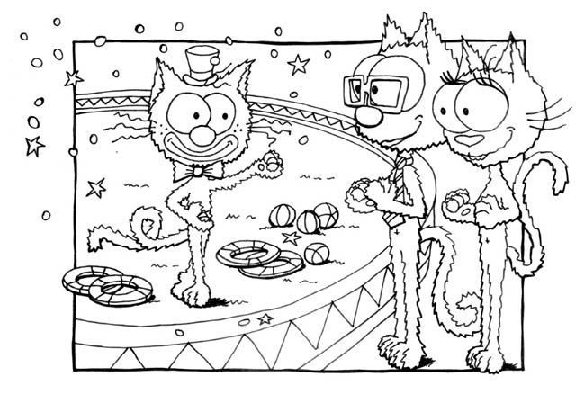 Les coloriages les jeux page 5 - Jeux de coloriage de chat ...