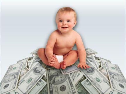 Бельгийские ученые подсчитали стоимость одного ребенка (оказывается, это тоже можно установить).