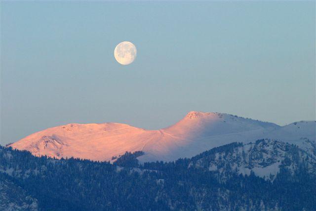 Lever du soleil coucher de la lune - Heure de lever et coucher de la lune ...