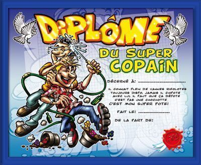 DIPLOME SUPER COPAIN
