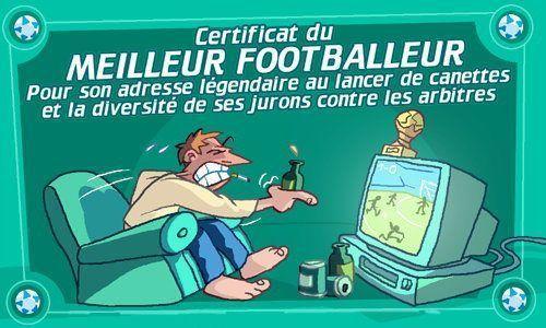 MEILLEUR FOOTBALLEUR